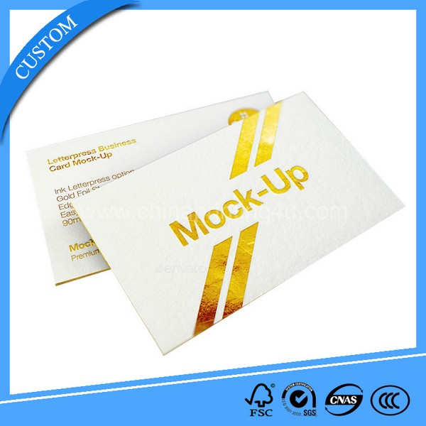 Business Paper Card From China Supplier
